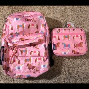 Brand new, Olive Kids matching backpack & lunchbox